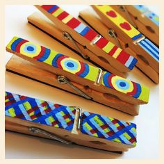 Teachers Gifts: DIY Magnetic Clothespins - Popsicle Blog