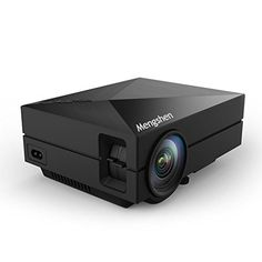 Mengshen Full Color 130 Portable LED Projector 800x480P HDMI Interface 1000 Lumens Black * Details can be found by clicking on the image.