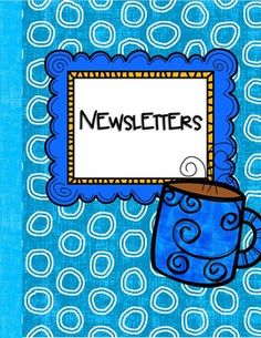 """FREE Newsletter Templates.......Follow for Free """"too-neat-not-to-keep"""" teaching tools & other fun stuff :)"""