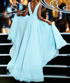 oscars and she enjoyed that dress, hope she got to keep it. It was GORGEOUS and RIGHT.