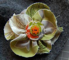 DIY Fabric Flowers  : DIY Fabric flower Tutorial