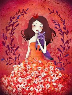 Púrpura Fox - Deluxe Edition Print