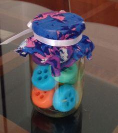 Botones de jabón glicerina