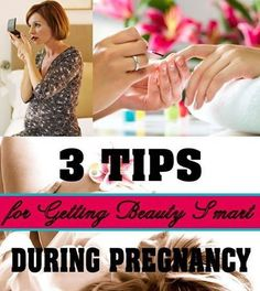 When you're pregnant, the way you think changes greatly. For example, you're suddenly far more aware of what you're putting in your body. You've got a vitamin regimen, a food plan and probably even an exercise routine all laid out in an attempt to keep you — and your growing baby — in good health. Check out our tips for getting beauty smart during pregnancy at www.pregnancycorner.com/blog/beauty-smart.html.