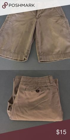 American Eagle Cargo Shorts (Slight Blueish Hue) Good Condition - Size 32 American Eagle Outfitters Shorts Cargo