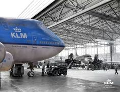 """Oud en nieuw"" dutch for ""old and new""  By Pinterest Aviation edit by @KLM Royal Dutch Airlines"