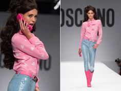 Those pants and boots are BAE not too crazy about the top Moschino  Barbie Collection