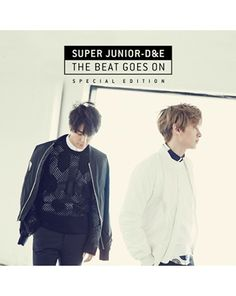 K2POP - 슈퍼주니어 SUPER JUNIOR -D&E ( DONGHAE & EUNHYUK - THE BEAT GOES ON (SPECIAL EDITION) + POSTER IN TUBE