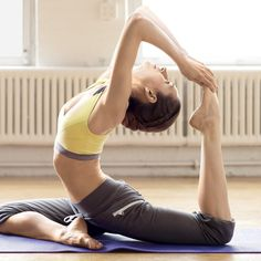 Forget the power nap; energizing yoga poses.