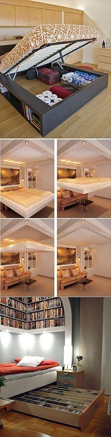 Компактные идеи для спальни — Наши дома