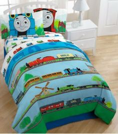 Thomas The Train Right On Time Bedding Comforter | Kid Stuff | Pinterest |  Thomas The Train, The Train And Comforter