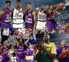 NBA Early 90 All-Stars