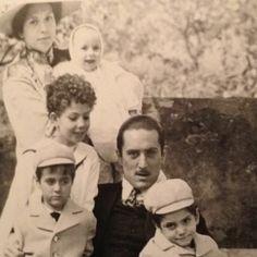 Carmella, Connie, Sonny, Fredo, Vito and Michael Corleone