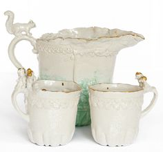 pitcher and cups by Joke Schole