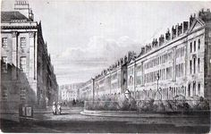 J.F Meehan illustration of Great Pulteney St published in 1902