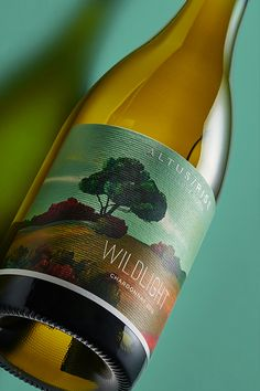 On the vibrant #Wildlight #label, the energetic, ever-changing environment — the vivid interplay of light across the sky, the Gunyulgup Brook bubbling through the rich loam gravelly soils buoyed by the cooling flurry of ocean breezes — is all reflected in two distinct colour ways, encapsulating their bold vision on these exciting #wines. Wines, Reflection, Environment, Label, Vibrant, Ocean, Sky, Colour, Design