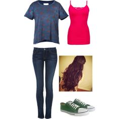 """Cute Strawberry"" by mpatterson3818 on Polyvore"