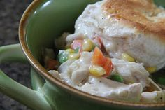 Is there anything more comforting than a Chicken Pot Pie? I really don't think there...