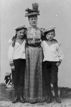 Elizabeth with Ivan and Gavril