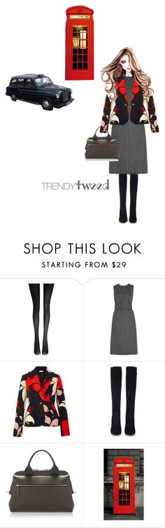 """""""Classic elegance"""" by cheetakat12 ❤ liked on Polyvore featuring Wolford, Rochas, Delpozo, Gianvito Rossi, Marni, 1Wall, TAXI, women's clothing, women and female"""