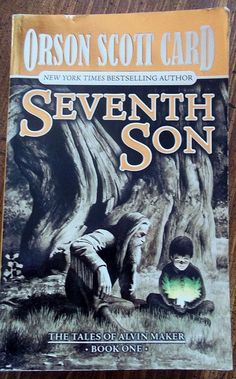 SEVENTH SON by Orson Scott Card / Fantasy by WhiteWolfeNativeArts, $2.00