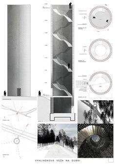 Vyhliadková veža na Dubni - výsledky súťaže | Archinfo.sk