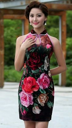 35 Best Ethnic Clothes - Cheongsam images  34a6f8c017cf