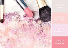 101 Color Combinations to Inspire Your Next Design – Pink Powder Color Palette