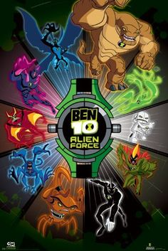 (24x36) Ben 10 Alien Force Omnitrix TV Poster Print