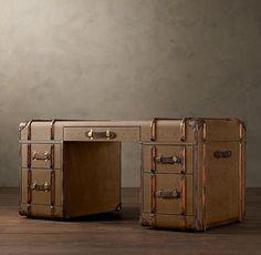 Richards' Trunk Desk