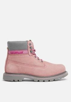 6fb41afb0678c8 Caterpillar Colorado Boots Canyon Rose Chaussures Caterpillar, Chaussures  Caterpillar, Bottes De Chaussures, Montage
