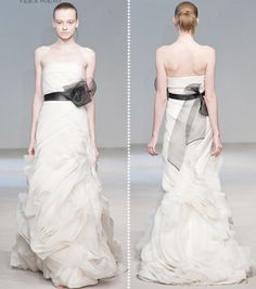 Vera Wang. @Victoria Crotwell what about something like this? Only without the huge bow?