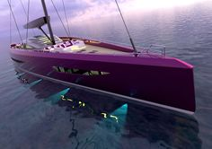 Shuairan 35m Sail Yacht blends the technology of a motor yacht with the world of sailing yachts.