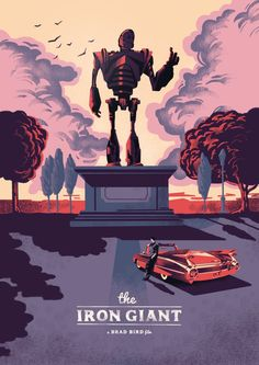 The Iron Giant #alternate #movie #poster #art