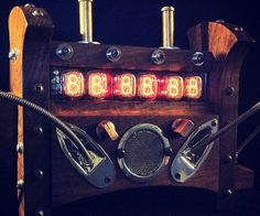 Steampunk Nixie Tube Clock  Set your home office apart from the rest with the steampunk nixie tube clock. This hand-made masterpiece is retro futurism at its finest  it seamlessly blends the 1850s with the 1950s to bring you a distinguished timepiece available in various color options.  $599.00  Check It Out  Awesome Sht You Can Buy