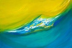 Die Welle -  Acryl on Canvas