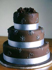 Easy Fondant royal icing cake