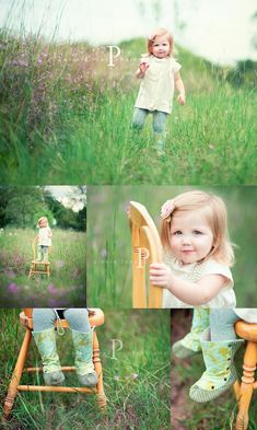 Portrait Photography Inspiration : sweet little girl photos.