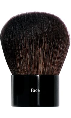 perfect brush by bobbi brown.  i use it every day.