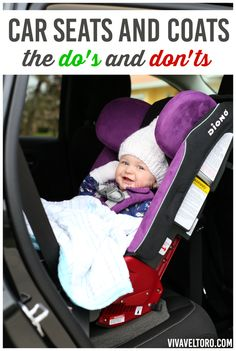Car seats and coats - the Do's and Don'ts of winter car seat safety.