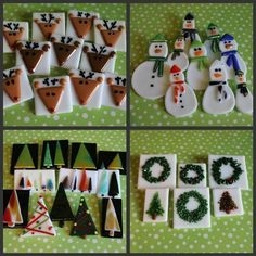 fused glass Christmas projects