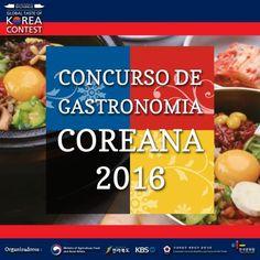 Participe do Concurso de Gastronomia Coreana 2016