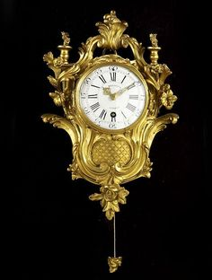 Buy online, view images and see past prices for CARTEL D'ALCÔVE D'EPOQUE LOUIS XV. Invaluable is the world's largest marketplace for art, antiques, and collectibles. Antique Wall Clocks, Wall Clock Wooden, Old Clocks, Antique Decor, Classic Clocks, Palladium, Wall Clock Online, Wall Clock Design, Clock Decor