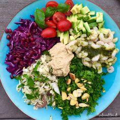 Regnbuesalat - en sund start på det nye år