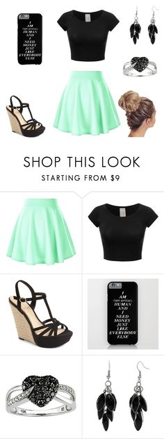"""Untitled #216"" by a-hidden-secret ❤ liked on Polyvore featuring Jessica Simpson, Ice and Alexa Starr"