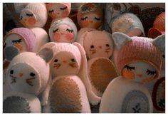 Chickabiddy  Sock Animals
