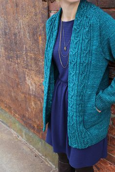 Cardigan Ravelry: Chartreuse pattern by Thea Colman