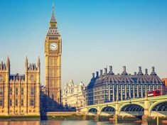 Big Ben London, United Kingdom Budget sky landmark City building cityscape spire tower plaza cathedral skyline skyscraper palace big place of worship waterway day