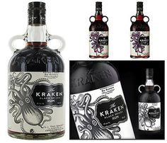 Kraken rum, cant afford it but when i can look out! LOOKS BEAUTIFUL