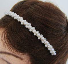 Love this pearl headband!